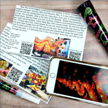 New Year Traditions Around the World {responding to non-fiction text}