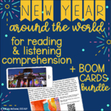 New Year Around the World - Reading Comprehenstion Passages & Videos