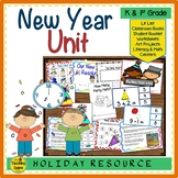 New Year Unit: Activities & Center
