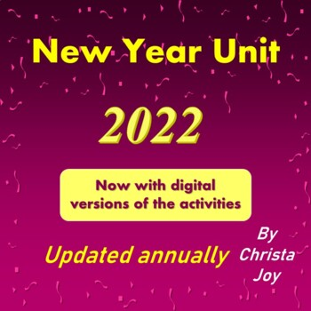 New Year Unit 2017 for Special Education