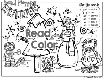 Printable Phonics Pack (New Years Day/Winter Word Work) Reading Reflex