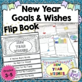 New Year Wishes Flip Book  (Grades 3-5)  New Year's Resolu