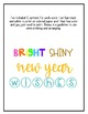 New Year Wishes - Writing Craft and Bulletin Board