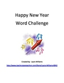 New Year Word Challenge