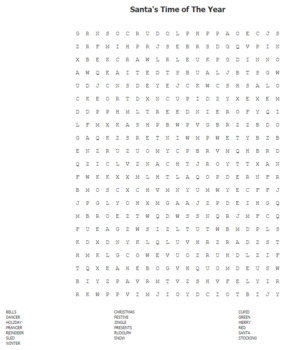 New Year Word Search