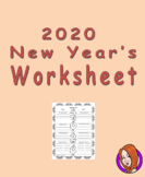 New Year Worksheet