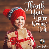 New Year Writing Activities ~ Thank You Notes for Holiday Gifts