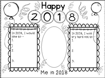New Year Writing Activity!