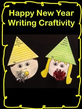 New Year Writing Craftivity