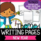 New Year Writing Paper