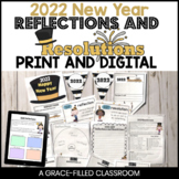 New Year 2018 Activities for Writing: Reflections and Resolutions