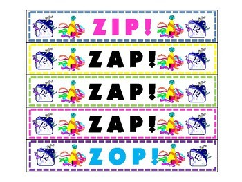 New Year ZAP! Noun, Verb, or Adjective