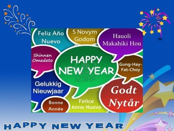 New Year around the world for ESL and other subjects