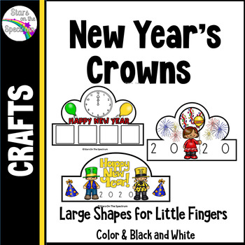 New Year's 2017 Crowns