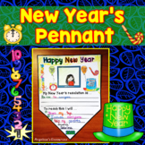 New Year's 2017 Pennant