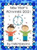 New Year's 2018 Writing Activities