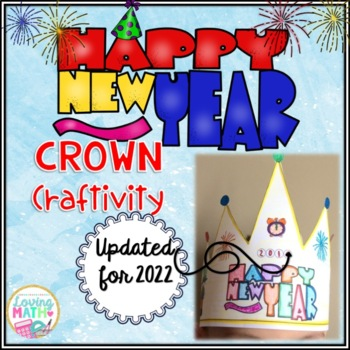 New Year's 2018 Crown Craftivity