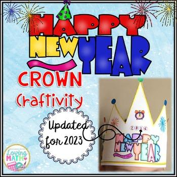 New Year's 2017 Crown Craftivity