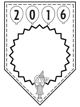 New Year's 2016 Papers / Banner / Pennant