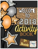 New Year's 2018 Activity Book