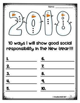 New Year's 2018 Goals and Resolutions