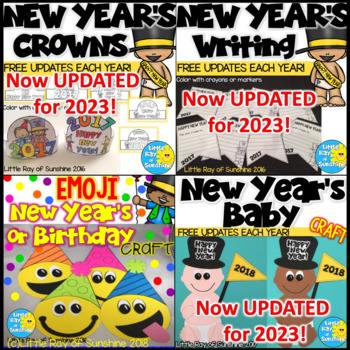 New Year's 2019 Activity Bundle