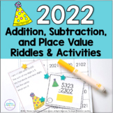 2019 New Year Math Activities Addition and Subtraction