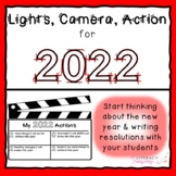 New Year's 2020 Resolutions and Action Steps Activity