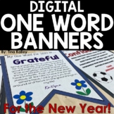 New Year's 2021 Banners | One Word | Resolutions | Digital