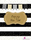 New Year's - English and Spanish