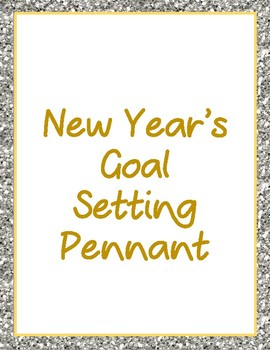 New Year's Goals Pennant