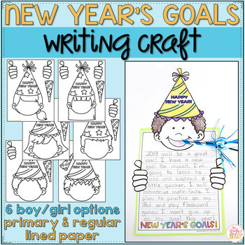 New Years 2020 Activities - New Year's Goals