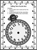 New Year's Game Activities: New Year's Telling Time Puzzle