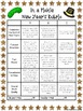 New Year's Choice Menus, Vocab Game Writing Activities, Choice Menus, Rubric