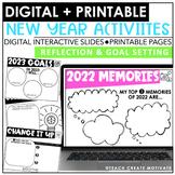 New Year's Activities (Digital & Print)