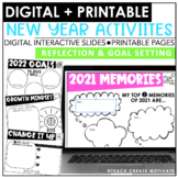 New Year's Activities (Digital & Print)