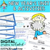 "New Year's Reading & Writing Activities Middle School {""Thank You, M'am"" Story}"