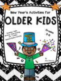 New Year's Activities Older Kids, Reading, Math, Writing,