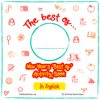 "New Year's Activities in English! Minibook: ""Best of the Year"""