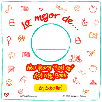 """New Year's Activities in SPANISH! Minibook: """"Best of the Year"""""""