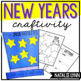 New Year's Activity 2019 | New Years Craft and Writing