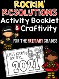 New Year's Activity Booklet & Craftivity