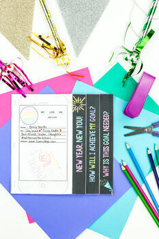 new years resolution activity instagram flip book