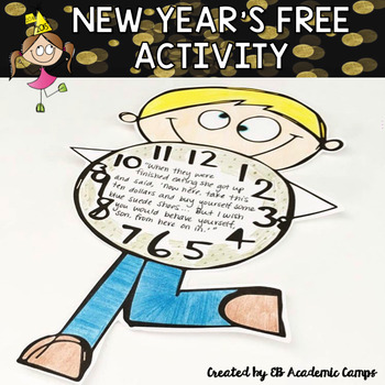 New Year's Activity Middle School FREEBIE