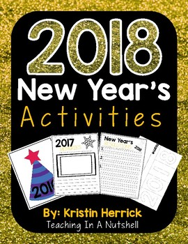 New Years Activity Pack