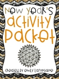 New Year's Day Activity Packet