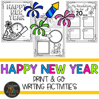 New Years Writing Activities