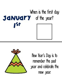 New Year's Adapted Book-updated yearly