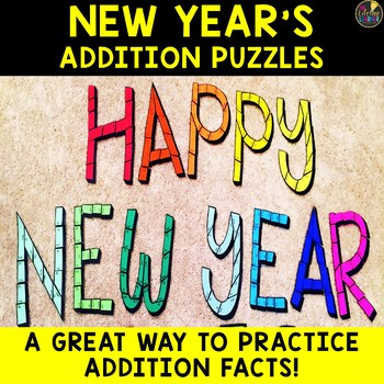 New Year's 2018 Addition Puzzles