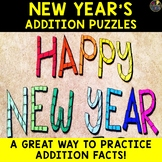 New Year's 2020 Addition Puzzles